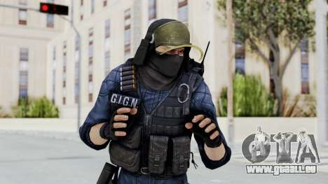 GIGN 2 Masked from CSO2 für GTA San Andreas
