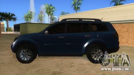 Mitsubishi Pajero Sport Dakar 2015 für GTA San Andreas linke Ansicht