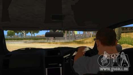 Nissan Skyline GT-R R34 Hatsune Miku für GTA San Andreas Innenansicht
