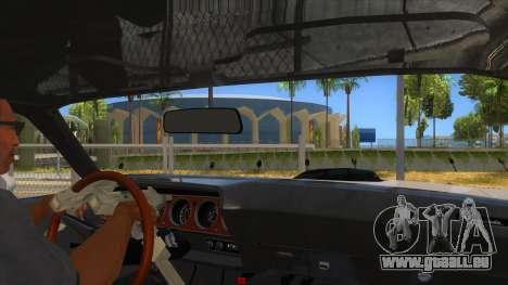 1971 Plymouth Hemi Cuda Monster Truck pour GTA San Andreas vue intérieure
