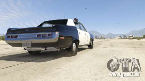 GTA 5 1972 AMC Matador LAPD Rückansicht