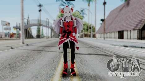 Fresh Precure Cure Passion für GTA San Andreas zweiten Screenshot