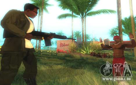 Saïga-12 Gauge pour GTA San Andreas quatrième écran