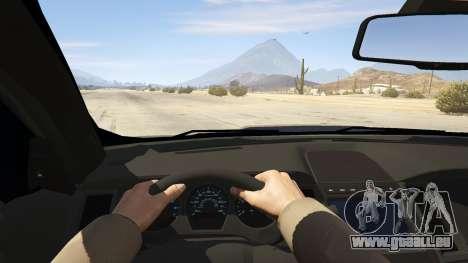 GTA 5 Ford Taurus Rückansicht