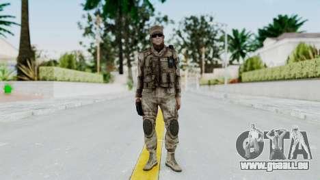 Crysis 2 US Soldier 3 Bodygroup A pour GTA San Andreas deuxième écran