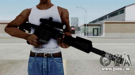 McMillan CS5 No Bipod für GTA San Andreas dritten Screenshot