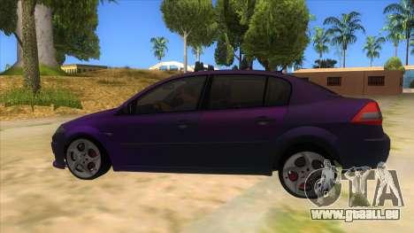 Renault MEGANE 2 für GTA San Andreas linke Ansicht