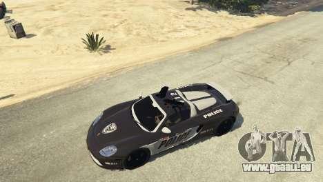 Porsche Carrera GT Cop pour GTA 5
