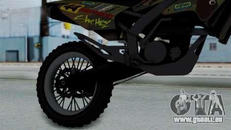 GTA 5 Shrewsbury Sanchez für GTA San Andreas rechten Ansicht