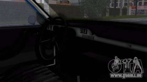Dacia 1300 Police für GTA San Andreas rechten Ansicht