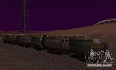 Batman Begins Monorail Train v1 pour GTA San Andreas salon