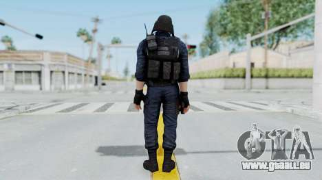 GIGN 2 No Mask from CSO2 für GTA San Andreas dritten Screenshot