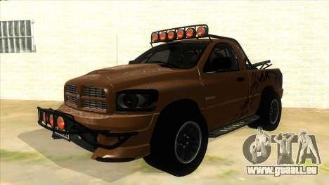 Dodge Ram SRT DES 2012 für GTA San Andreas