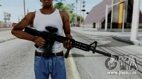 No More Room in Hell - M16A4 ACOG pour GTA San Andreas
