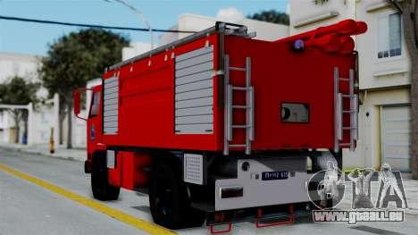 FAP Serbian Fire Truck für GTA San Andreas linke Ansicht