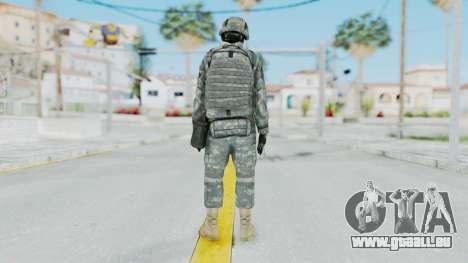 Acu Soldier 1 pour GTA San Andreas troisième écran
