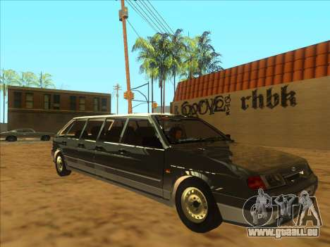 VAZ 2114 9-door pour GTA San Andreas laissé vue