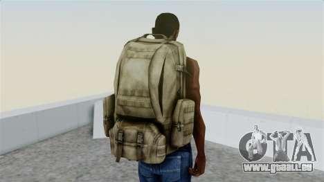 Arma 2 Coyote Backpack pour GTA San Andreas troisième écran