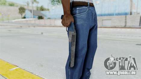 Double Barrel Shotgun LSPD Tint (Lowriders CC) für GTA San Andreas dritten Screenshot