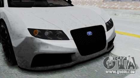 GTA 5 Truffade Adder v2 IVF für GTA San Andreas Innenansicht