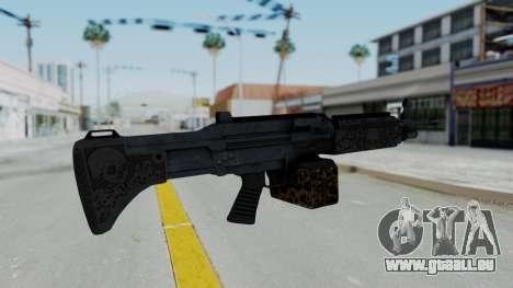 GTA 5 Online Lowriders DLC Combat MG pour GTA San Andreas deuxième écran