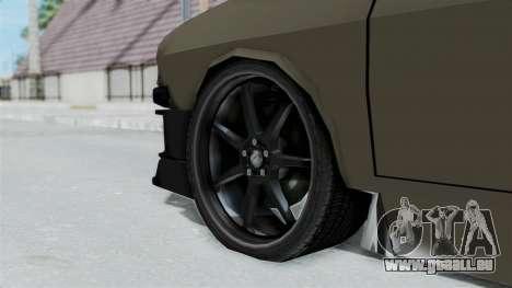 Dacia 1310 Tuned für GTA San Andreas zurück linke Ansicht