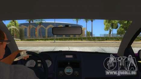 Renault MEGANE 2 für GTA San Andreas Innenansicht