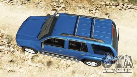 GTA 5 Chevrolet TrailBlazer Rückansicht