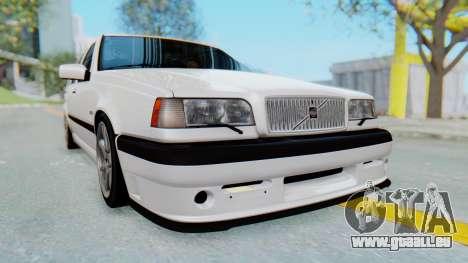 Volvo 850R 1997 Tunable pour GTA San Andreas