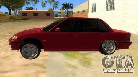 Honda Civic Ef Sedan pour GTA San Andreas laissé vue