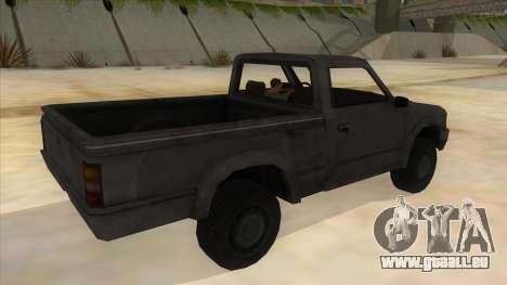 Toyota Hilux Militia pour GTA San Andreas vue de droite