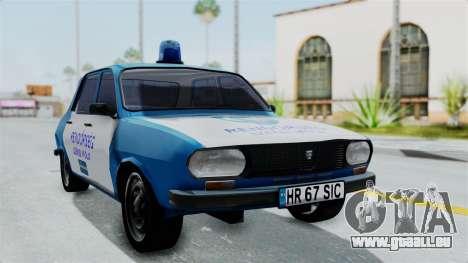 Dacia 1300 Police für GTA San Andreas