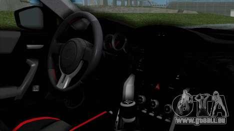 Toyota GT-86 Rocket Bunny pour GTA San Andreas vue de droite