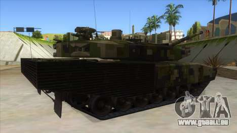 MBT52 Kuma pour GTA San Andreas vue de droite