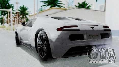 GTA 5 Truffade Adder v2 IVF für GTA San Andreas linke Ansicht