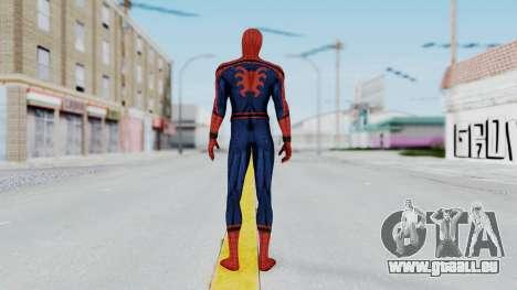 Civil War Spider-Man Alt pour GTA San Andreas troisième écran