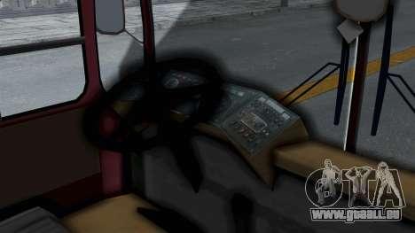 DAC 112 Udm pour GTA San Andreas sur la vue arrière gauche