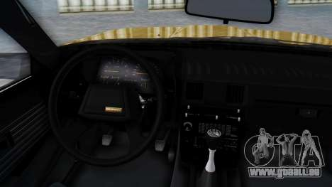 Toyota Celica Supra Mk2 pour GTA San Andreas vue de droite