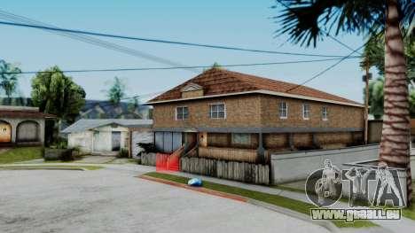 Nouvelle texture à la maison Se v2 (à l'intérieu pour GTA San Andreas