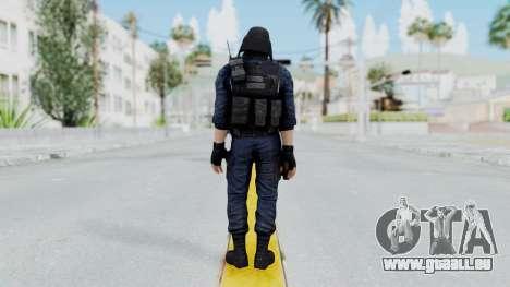 GIGN 2 Masked from CSO2 pour GTA San Andreas troisième écran