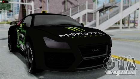 GTA 5 Obey 9F Monster pour GTA San Andreas