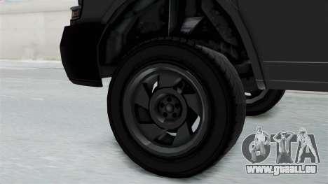 Vapid Speedo Newsvan pour GTA San Andreas vue de droite