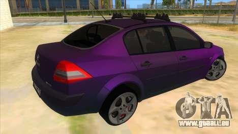 Renault MEGANE 2 für GTA San Andreas rechten Ansicht