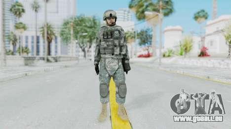 Acu Soldier 1 pour GTA San Andreas deuxième écran