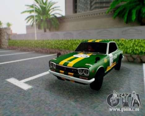 Nissan 2000GT-R [C10] Tunable pour GTA San Andreas vue de côté