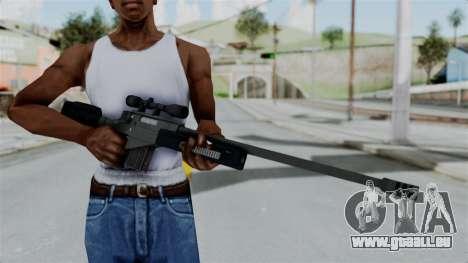 GTA 5 Sniper Rifle pour GTA San Andreas troisième écran