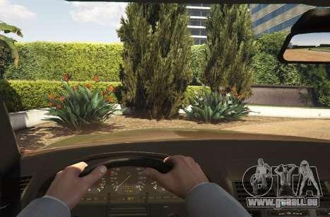 GTA 5 Mercedes-Benz S600 (W140) [Replace] v1.1 arrière droit vue de côté