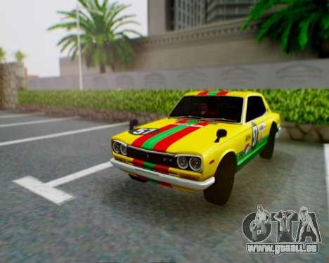Nissan 2000GT-R [C10] Tunable pour GTA San Andreas