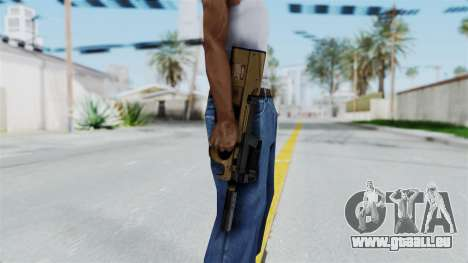 P90 Sand Frame für GTA San Andreas dritten Screenshot