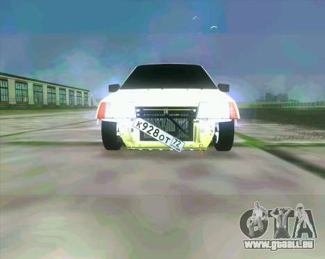 VAZ 2109 BUNKER für GTA San Andreas linke Ansicht